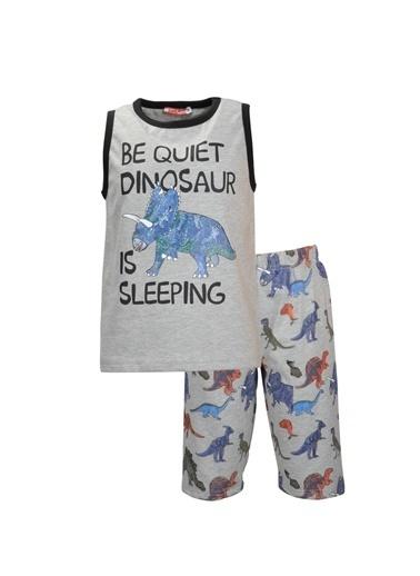 Zeyland Grimelanj Sleepy Dino şortlu Pijama Takımı (1-7yaş) Grimelanj Sleepy Dino şortlu Pijama Takımı (1-7yaş) Renkli